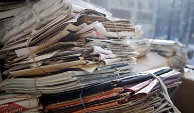 Какие бумажные отходы могут быть переработаны?